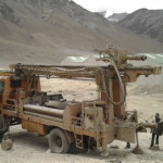 Drilling for groundwater at Lukung Pangong Lake - Ritesh Arya