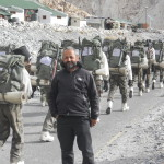 Siachen - Ritesh Arya with Army
