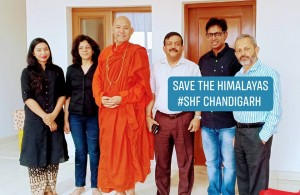 Ritesh Arya in Save The Himalayan Foundation